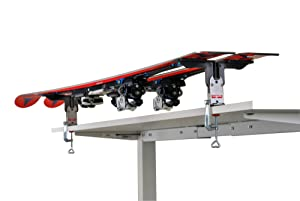 Amazon Com Tools4boards Tuning Vise Ski Amp Snowboard Vise Black Sports Amp Outdoors