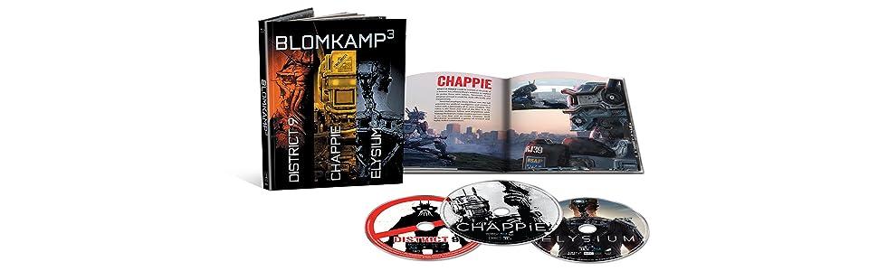 Amazon.com: Chappie / District 9 / Elysium - Set [Blu-ray ...