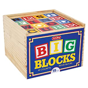 wood blocks, letters, numbers