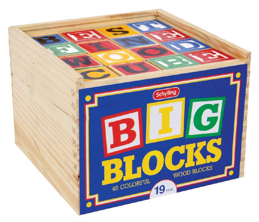 wood blocks letters numbers