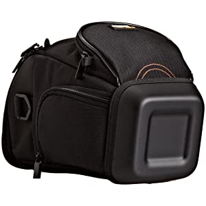 AmazonBasics Holster Camera Case for DSLR Cameras - 7 x 6 x 9 Inches, Black