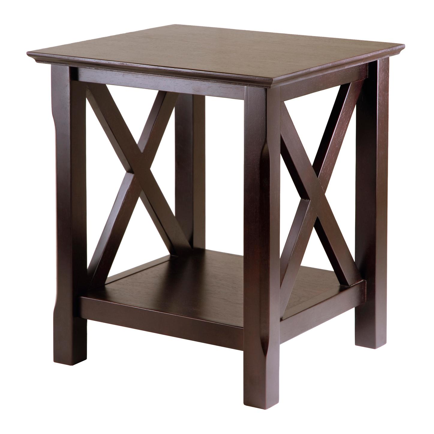 wood end tables. View Larger Wood End Tables Q
