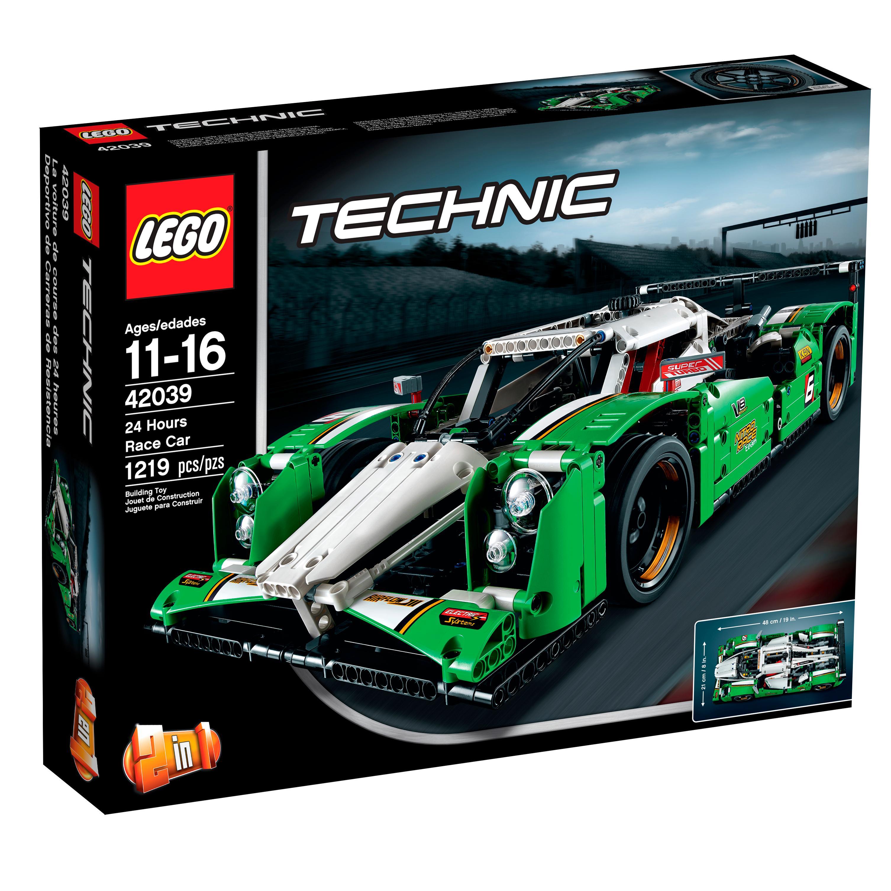 lego technic 24 hours race car building sets amazon canada. Black Bedroom Furniture Sets. Home Design Ideas