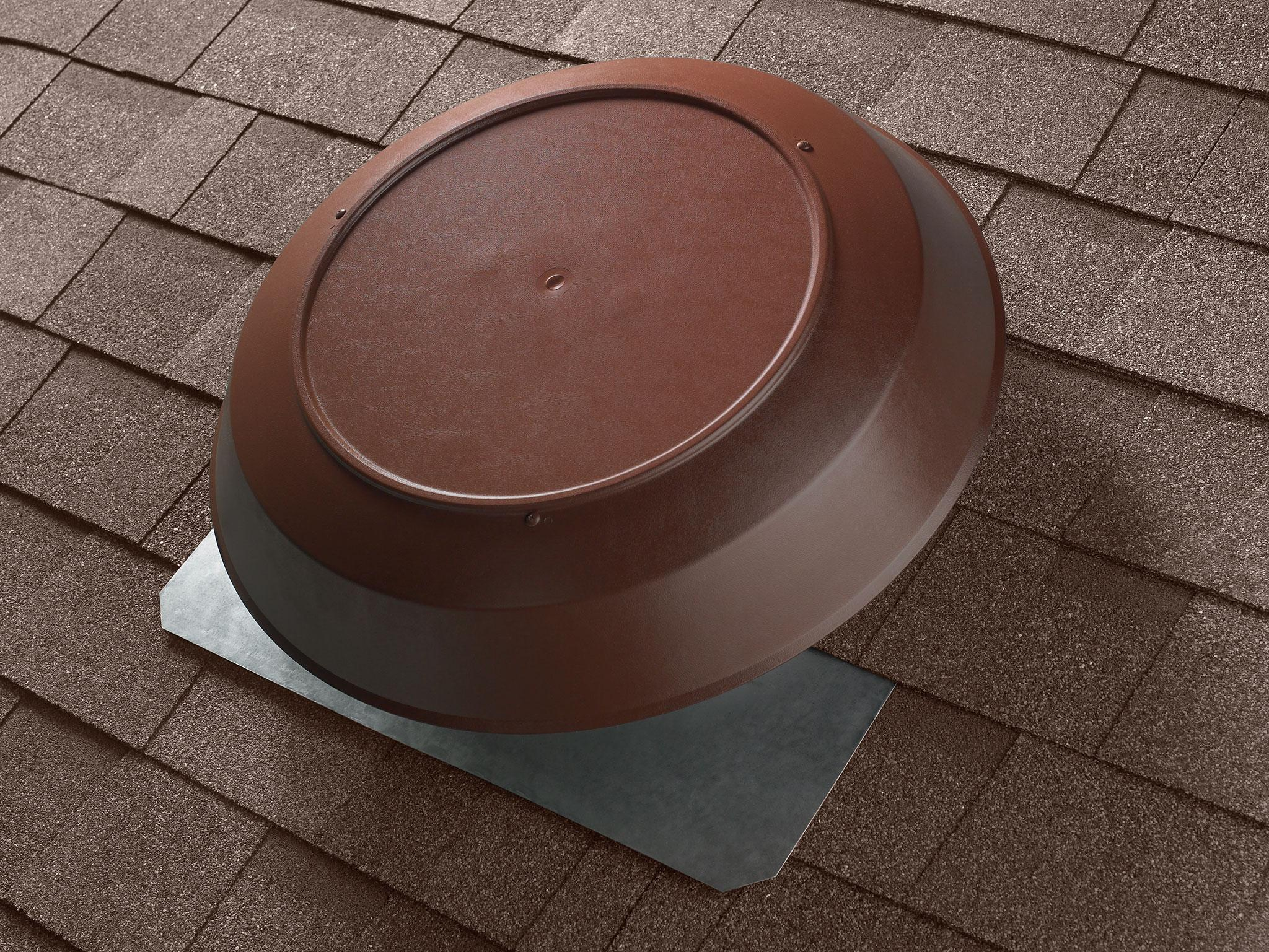 Broan 355bk Roof Mount 120 Volt Powered Attic Ventilator 1200 Cfm House Fuse Box Wiring An 350b 12 1050 Brown Dome