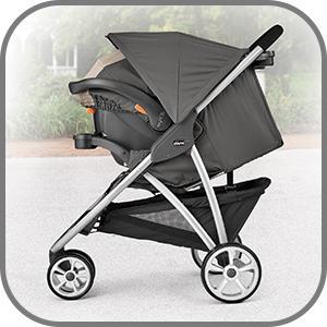 Amazon Com Chicco Viaro Quick Fold Stroller Graphite Baby