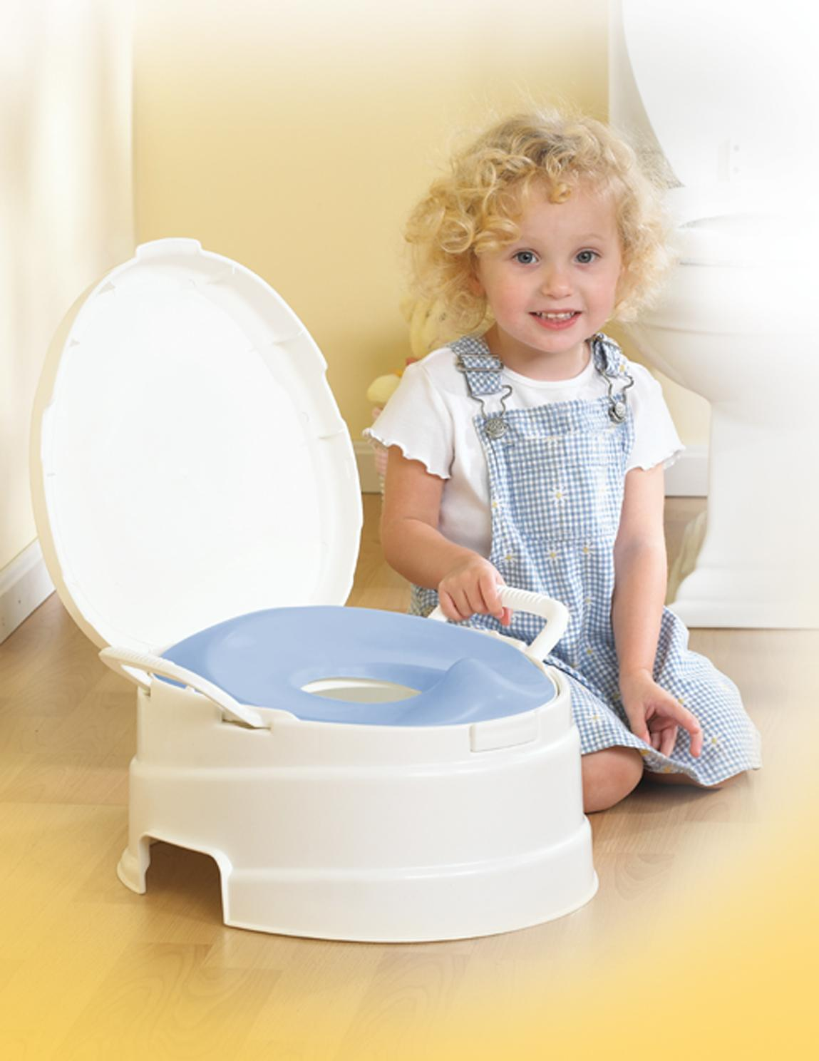 Amazon Com Primo 4 In 1 Soft Seat Toilet Trainer And Step