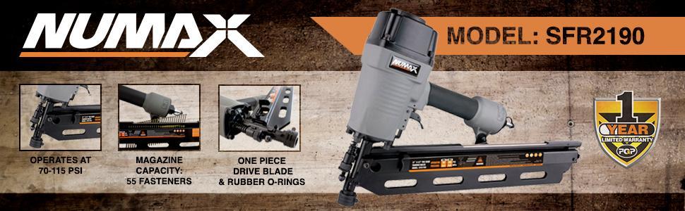NuMax SFR2190 Framing Gun