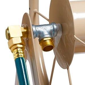 hose reel brass - Liberty Garden Hose Reel