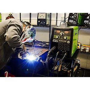 120//230-Volt Forney 324 190-Amp MIG//Stick//TIG Multi-Process Welder