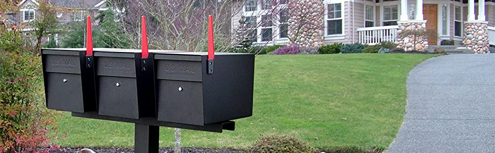 Amazon Com Mail Boss 7106 Curbside Security Locking