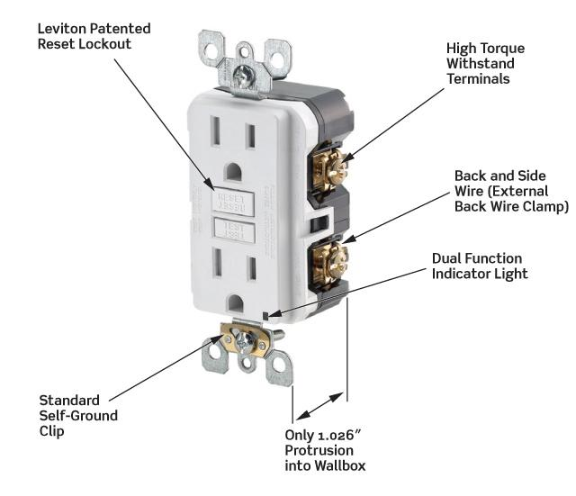 Leviton N7899t 20 125volt Smartlock Pro Slim Nonter. View Larger. Wiring. Wiring 20 Amp Outlets In Series At Scoala.co