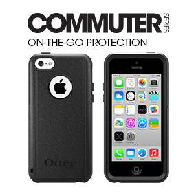 detailed look 67f16 35705 OTTERBOX COMMUTER SERIES Case for iPhone 5c - Retail Packaging - BLACK