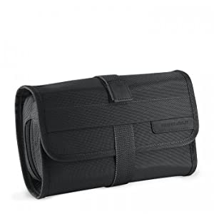 0f1694e0b469 A tri-fold toiletry kit that offers superb organization in a compact size.  Easily fits into your luggage