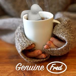 Fred and Friends, tea diffuser, kitchen, home, wine holder, cookie cutters, mugs, glasses, lunch