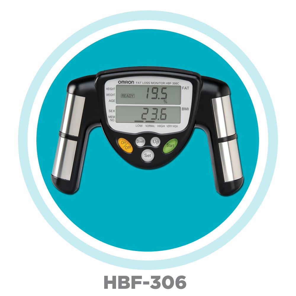 Omron HBF-306C Fat Loss Monitor: Amazon.ca: Health