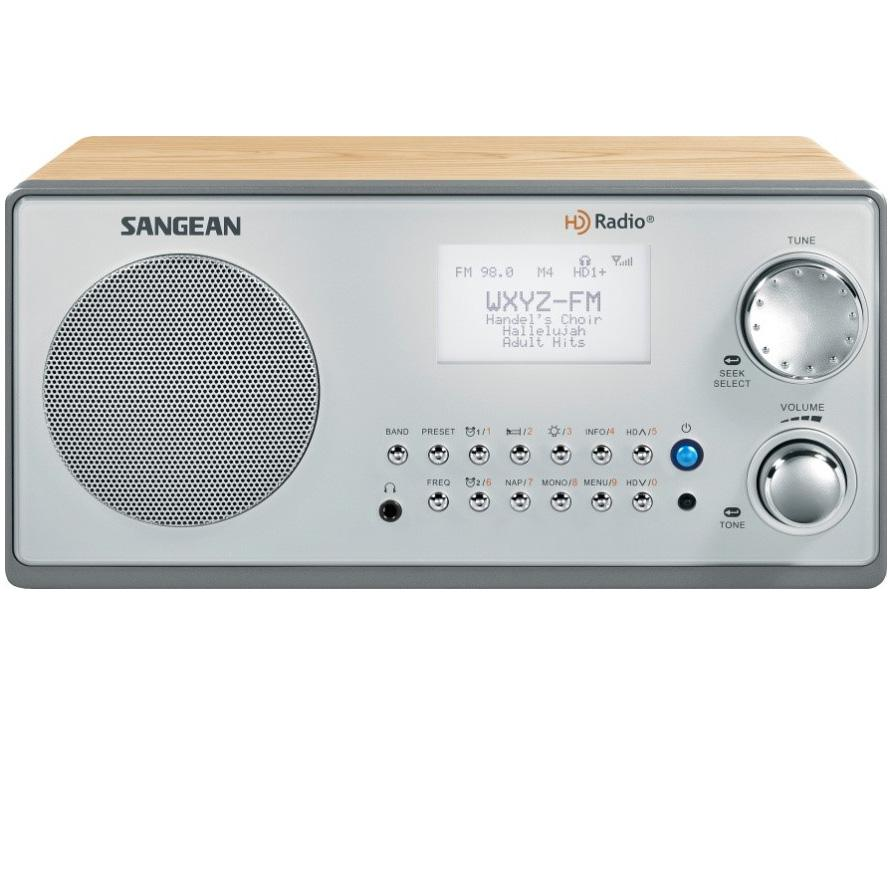 Sangean HDR 18 HD Radio/FM Stereo/AM Wood Cabinet Table Top