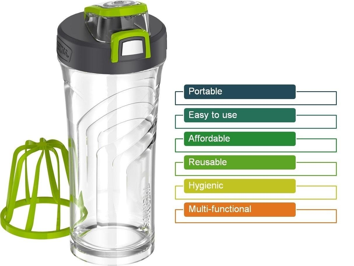Amazon.com: THERMOS Shaker Bottle with Integrated