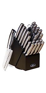 Amazon.com: Oster Baldwyn 14-Piece Cutlery Block Set ...