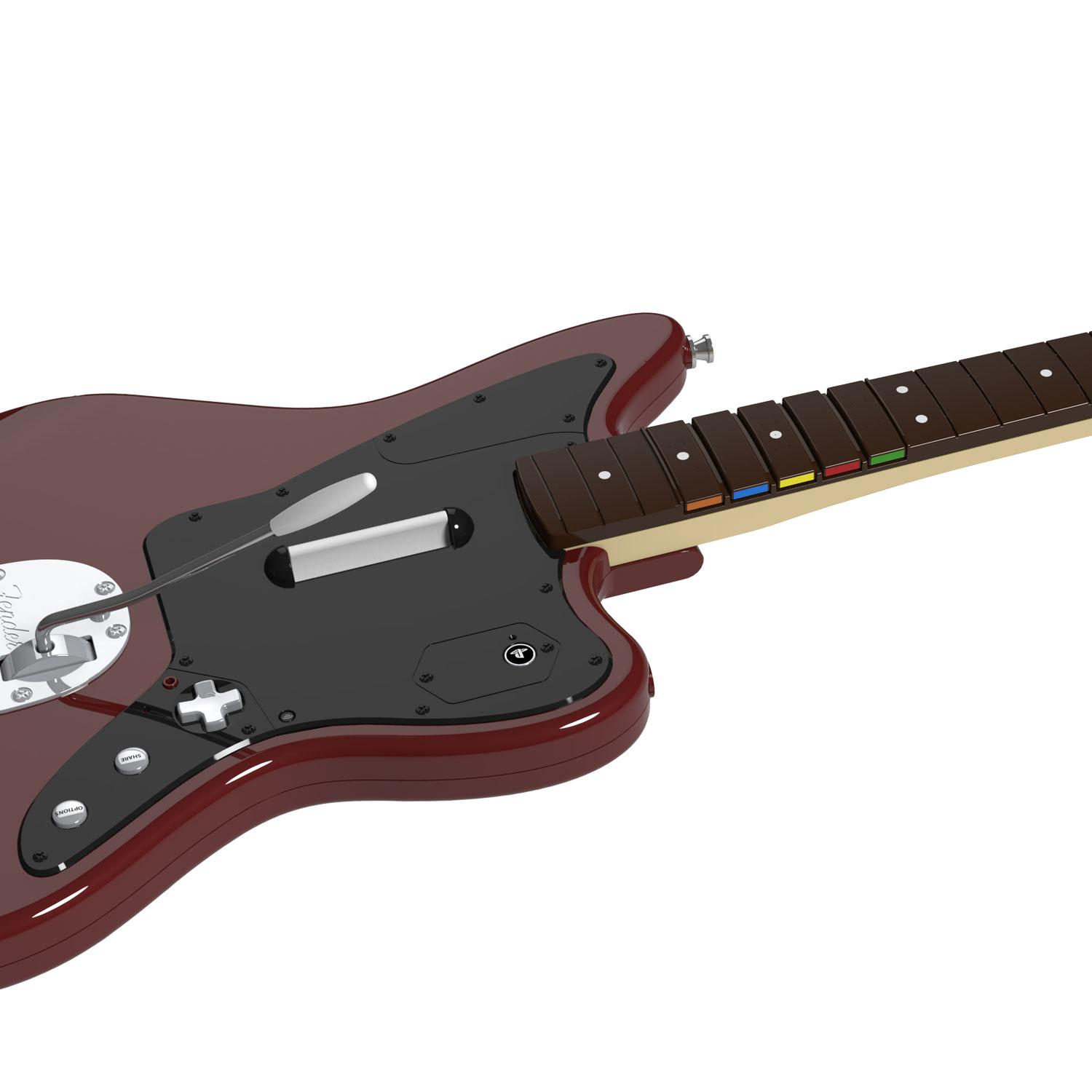 Amazon com: Rock Band Fender Jaguar Guitar Controller for