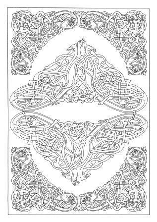 Art Therapy Celtic Michel Solliec 9781910254073 Amazon Books