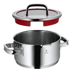 wmf function 4 high casserole with lid 6 quart wmf cookware induction kitchen. Black Bedroom Furniture Sets. Home Design Ideas