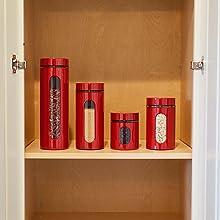 anchor hocking; glass; glassware; cherry; palladian; round food storage; pantry storage;
