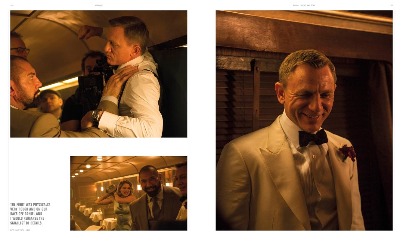 Blood Sweat And Bond Behind The Scenes Of Spectre Curated By