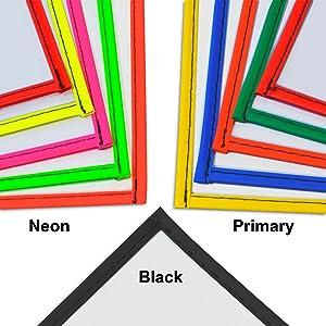 Dry Erase Pocket Colors
