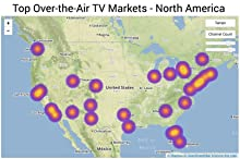 Heat Map, OTA, Markets, USA, Antenna