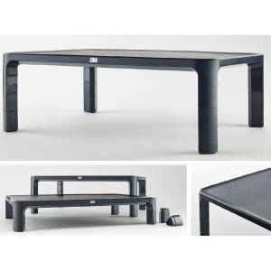 3M Adjustable Monitor Stand (MS85B)