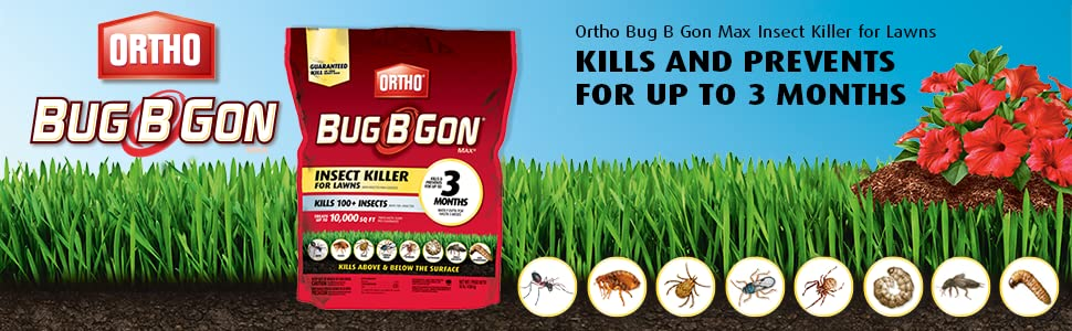 Amazon.com : Ortho Bug B Gon Max Insect Killer for Lawns (Kills ...