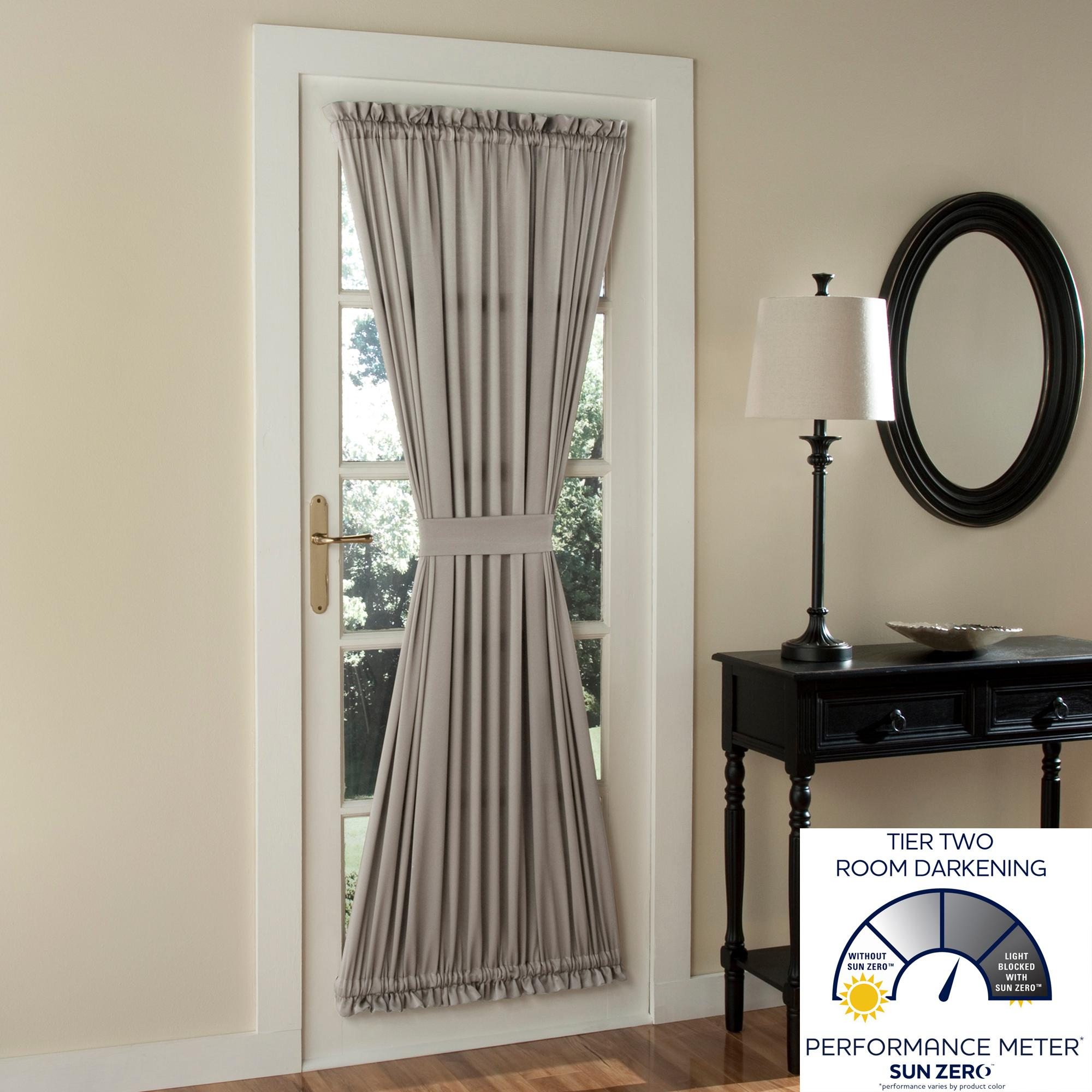 Amazon Sun Zero Barrow Energy Efficient Door Panel Curtain With