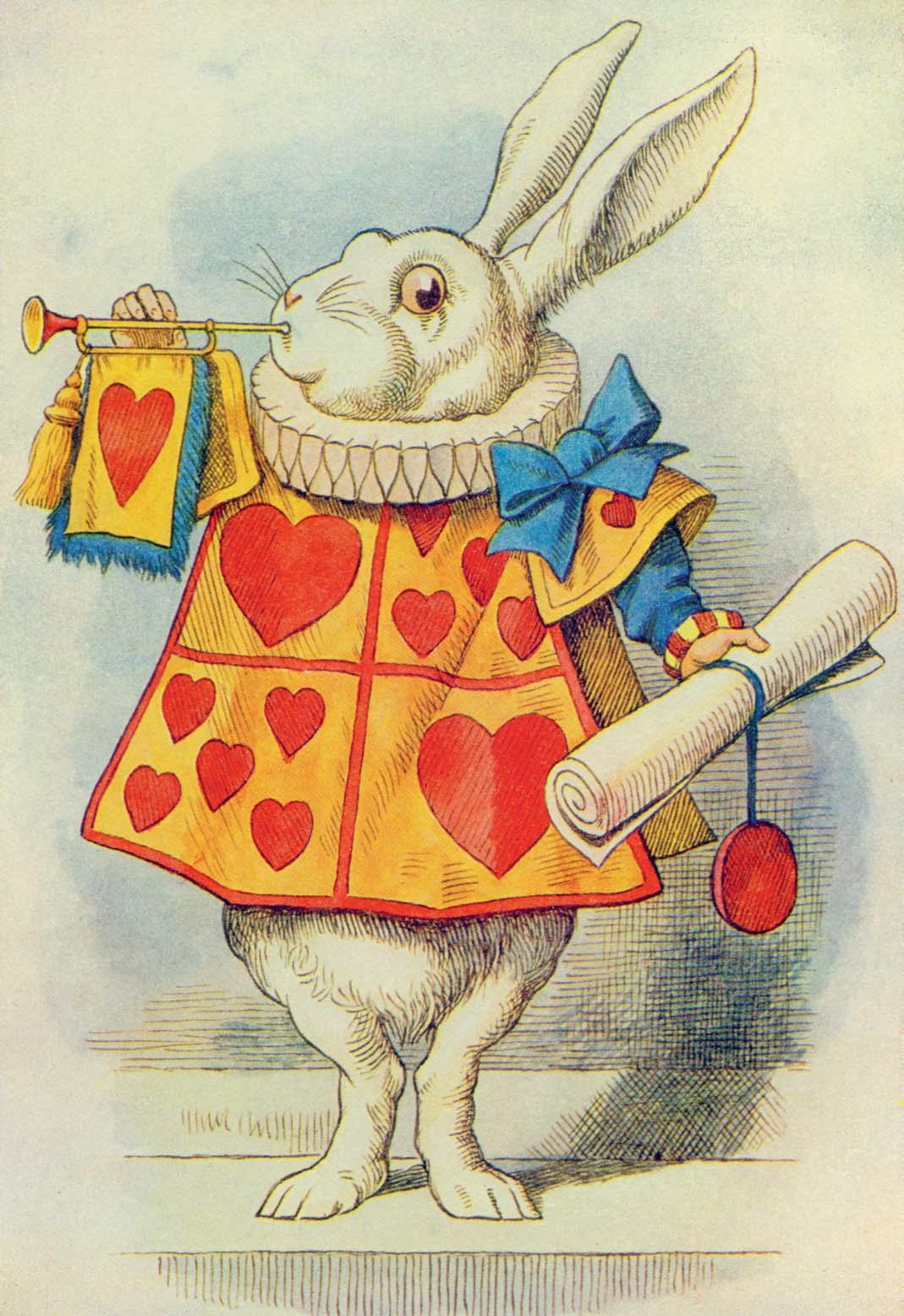 Alice In Wonderland Bunny