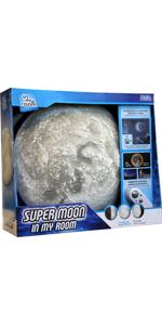 supermoon, light-up, remote control, room decor