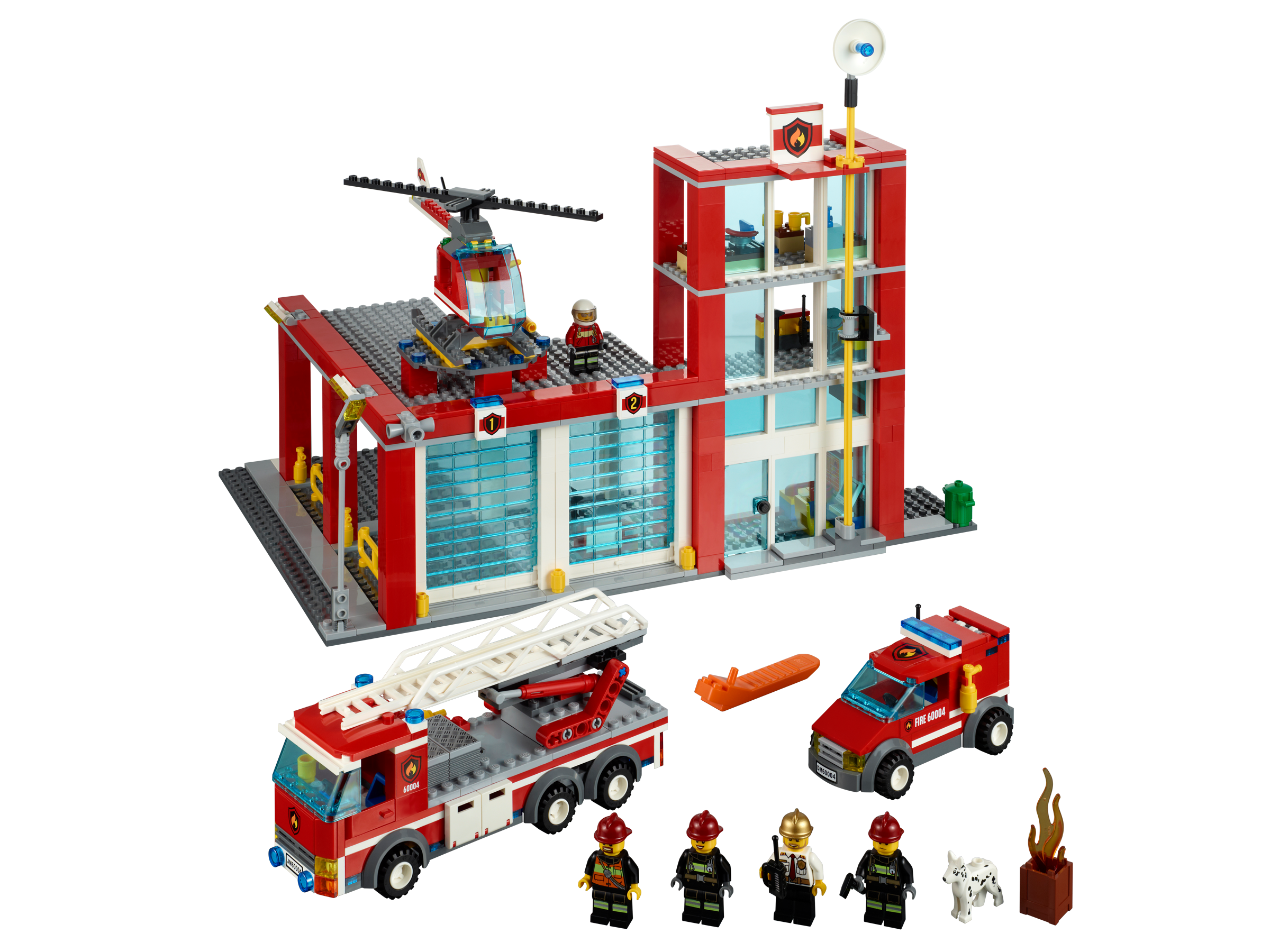 LEGO City Fire Station - 60004, Building Sets - Amazon Canada