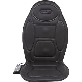 Relaxzen 60-2926XP Large 5-Motor Massage Cushion with Heat
