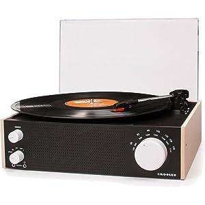 Amazon.com: Crosley cr6023 a-na Switch Turntable con radio ...