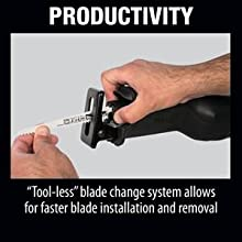 blade changes easy simple productive