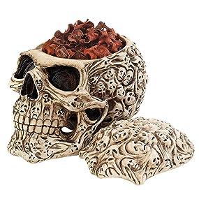 skulls, halloween decor, anne stokes design