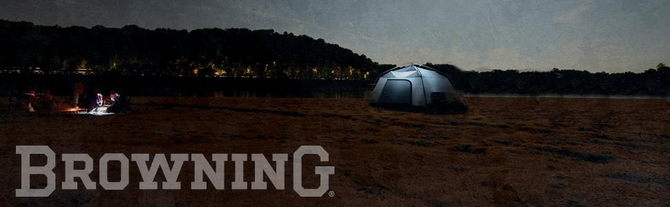 Amazon Com Browning Camping Big Horn Two Room Tent