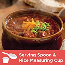 Serving Spoon & Rice Measuring Cup