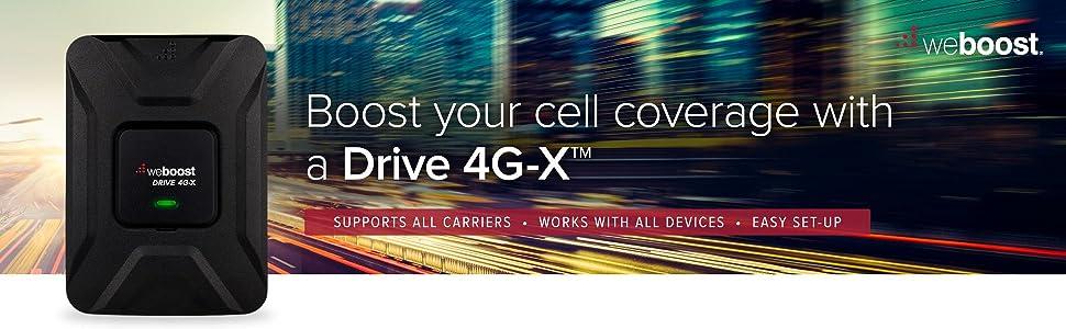 weBoost Drive 4G-X Signal Booster