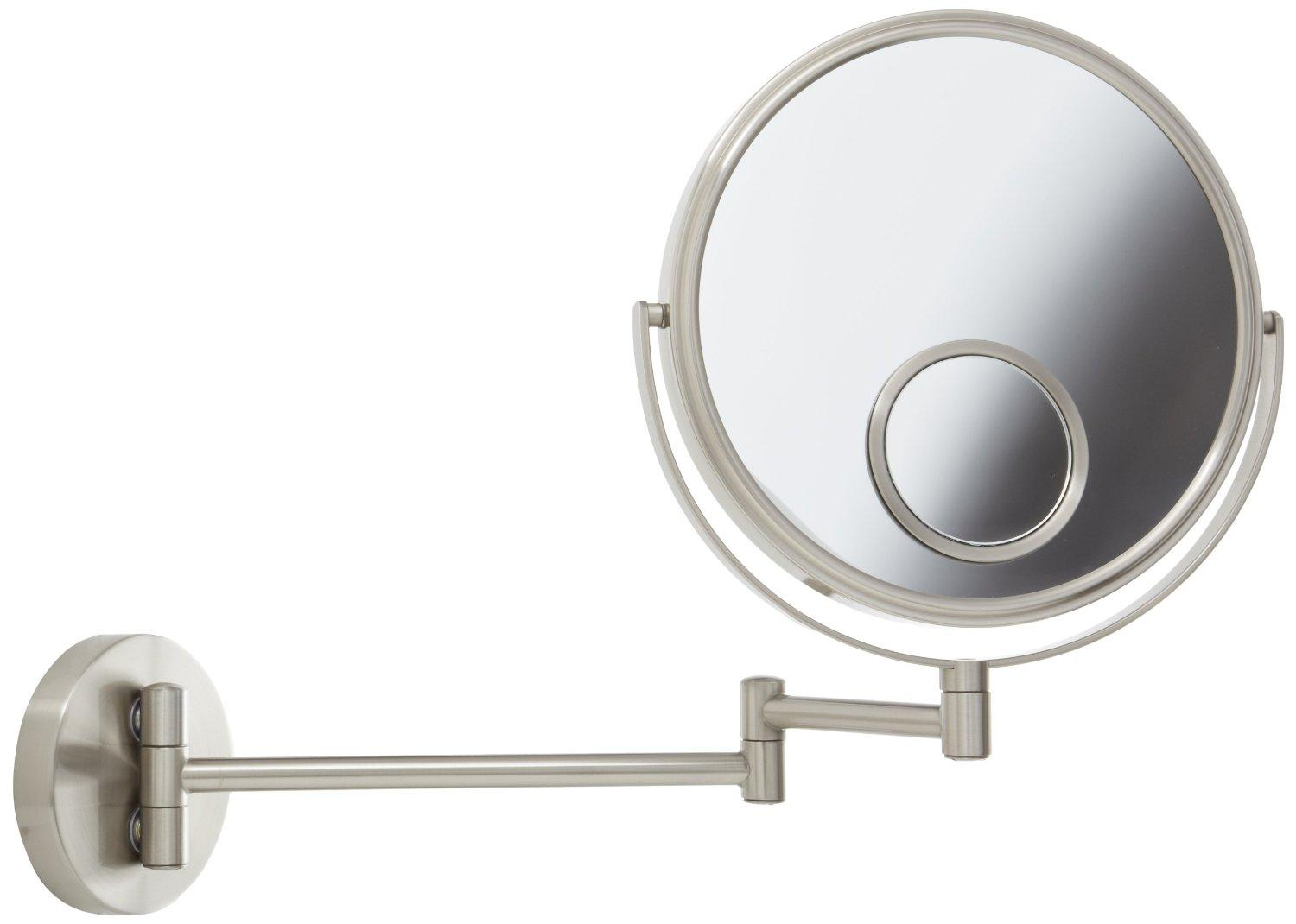 Jerdon Jp7510n 8 Inch Two Sided Swivel Wall Mount Mirror With 10x Mounted Wiring Diagram View Larger