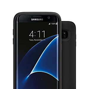 mophie juice pack for Samsung Galaxy S7 Edge (3,300mAh) - Black