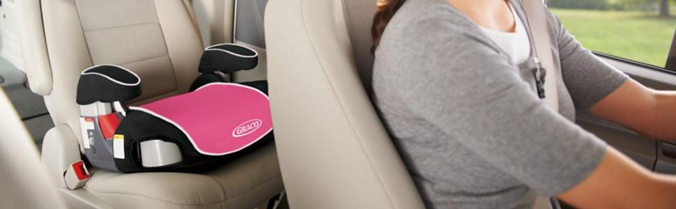 Amazon.com : Graco Backless Turbo Booster Car Seat, Kenzie : Baby