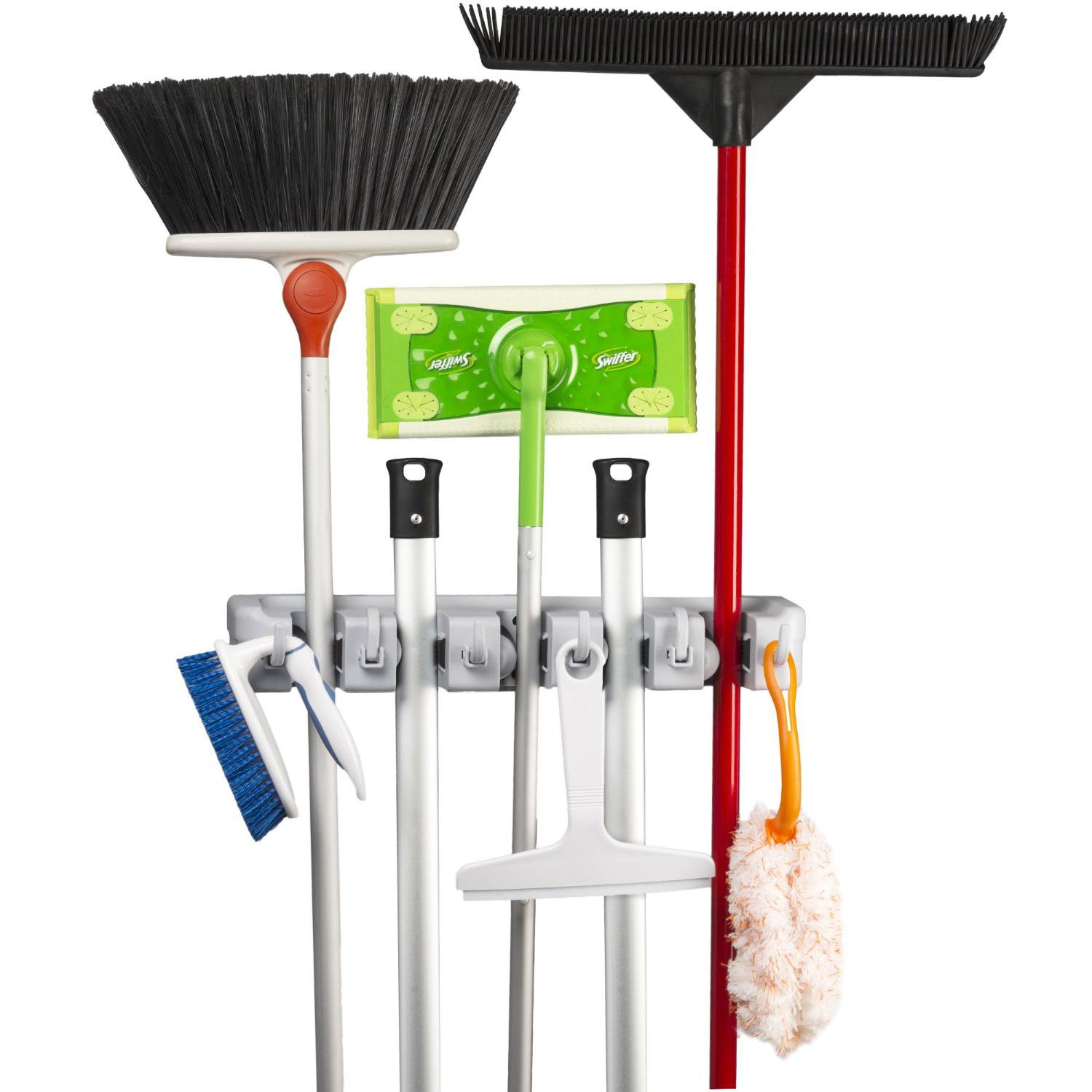 Amazoncom Spoga Wall Mounted Mop Broom And Sports Equipment