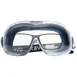 Uvex Stealth OTG Safety Goggles, safety goggles