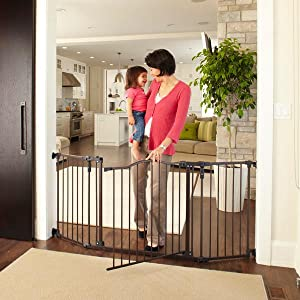 deluxe d cor gate by north states fits. Black Bedroom Furniture Sets. Home Design Ideas