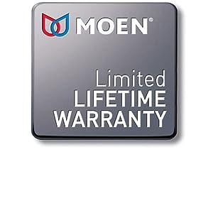 Moen Limited Lifetime Warranty