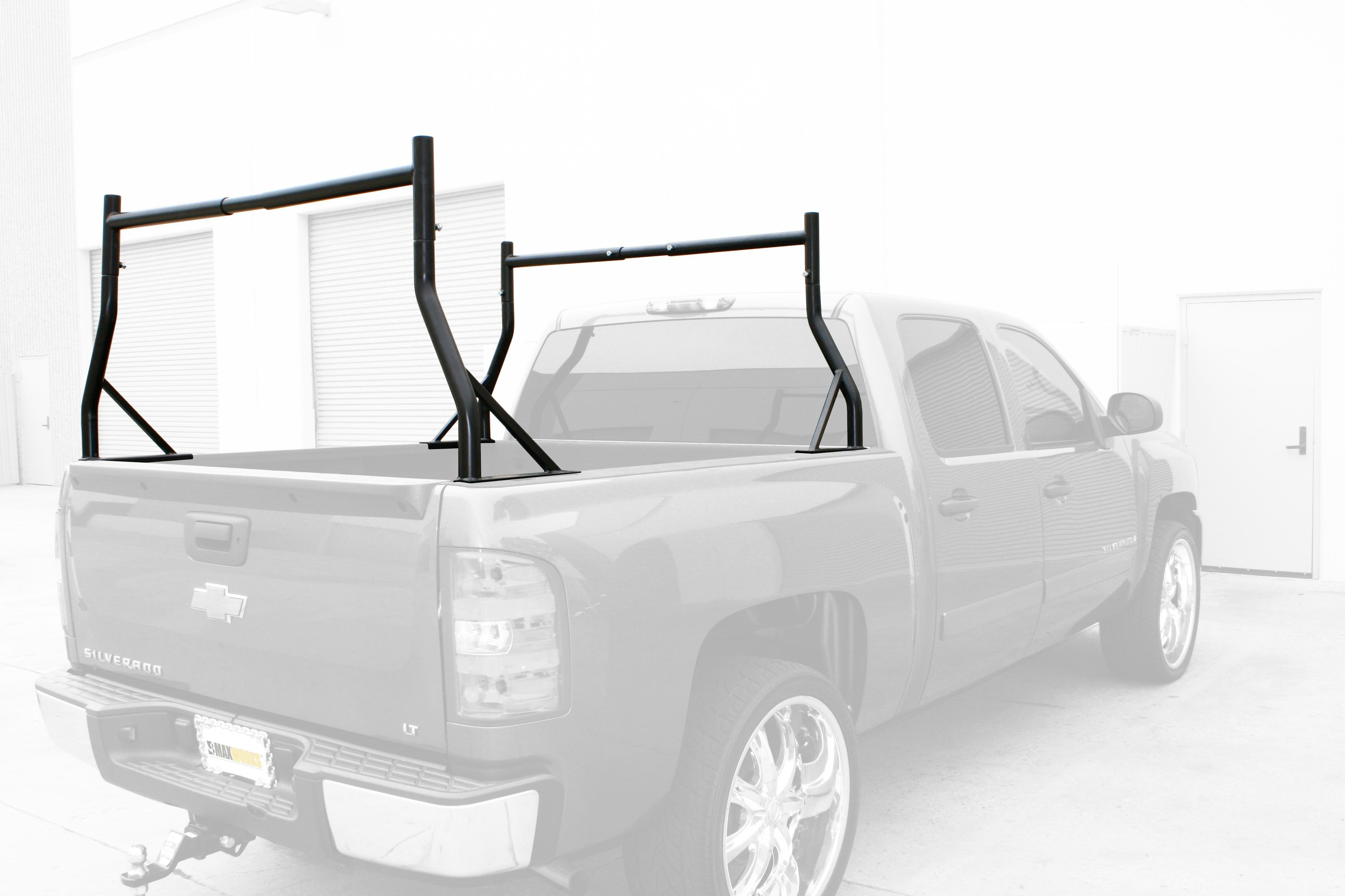 up rack aa itm heavy duty no truck required pickup drilling aluminum pick ladder racks extendable